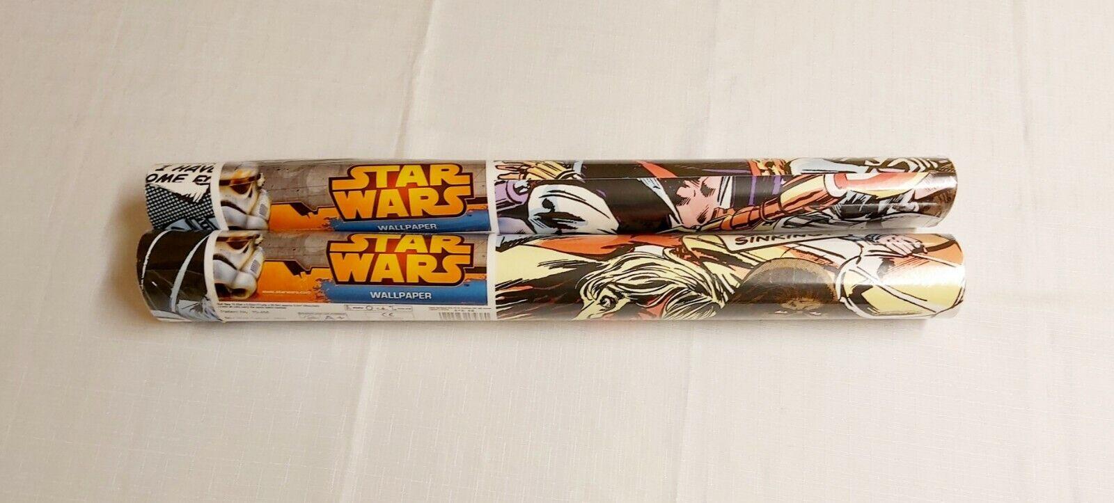 2 Rolls Of Star Wars Wallpaper Graham Brown Pattern 70 456 For Sale