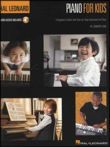 Hal Leonard Piano For Kids Sheet Music Book with Audio Learn How To Play Method
