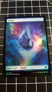 MTG theros beyond death NYX LANDS FULL ART FOILS WHOLE SET!