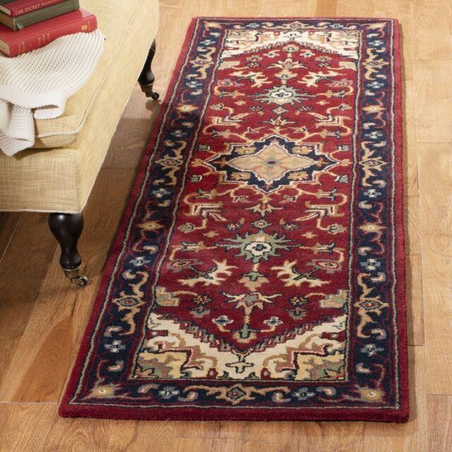 Hand Tufted Wool Area Rug Oriental Multi For Sale Online Ebay