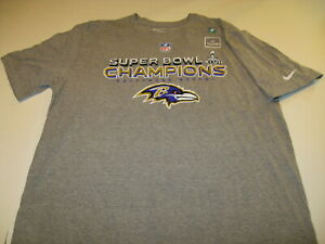 Baltimore-Ravens-Super-Bowl-XLVII-Champions-Lombardi-Trophy-Nike-T-Shirt-NWT-XL