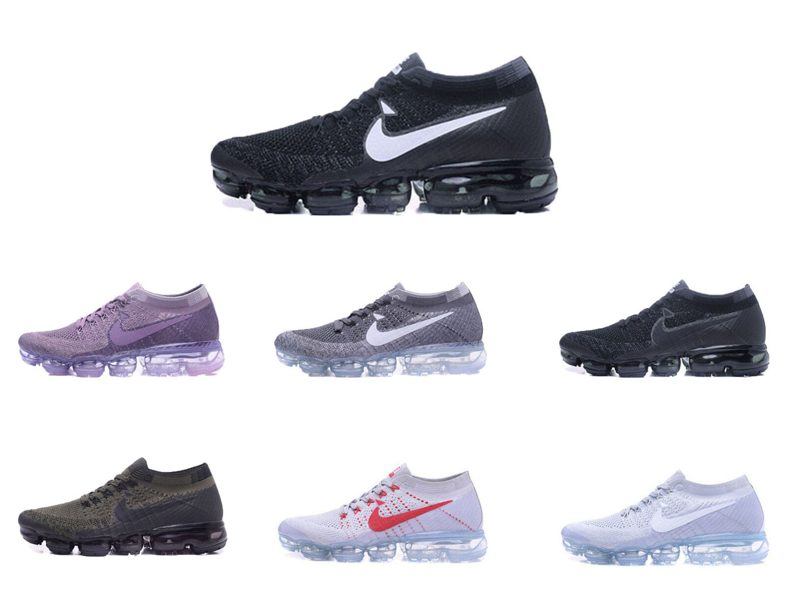 2018 Womens Vapormax Air Casual Sneakers Running Sports Designer Trainer shoes