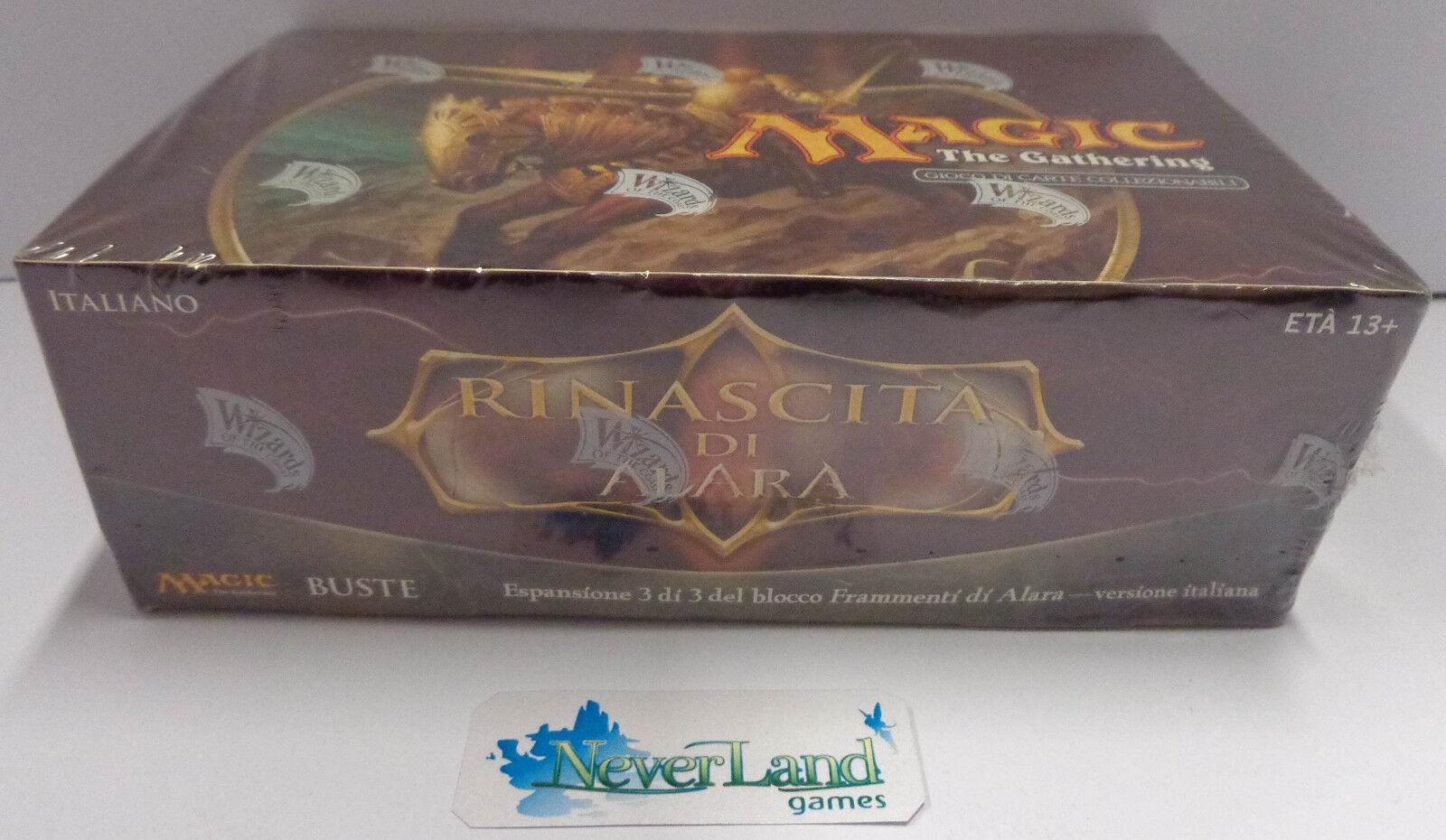 Gioco Game MTG Magic Box Nuovo New Sealed ITALIANO ITALIANO ITALIANO Reborn - RINASCITA DI ALARA - 7372b3