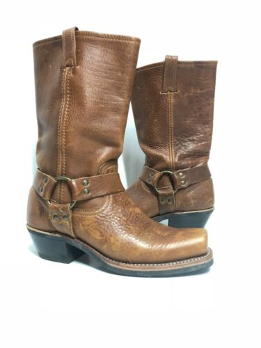Frye Harness Harness Pull On Leather Boots In Cogn