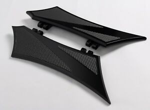 CHROME-E-O BRAKE PEDAL ALL BLACK with Rubber Inserts HARLEY TOURING BAGGER Motorcycle Parts Foot Pegs & Pedal Pads