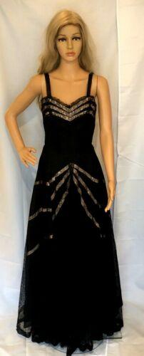 Lavish Vintage 1950's Hattie Carnegie Black Lace P