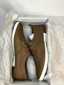 aldo brown mens lace up leather casual shoes brand new