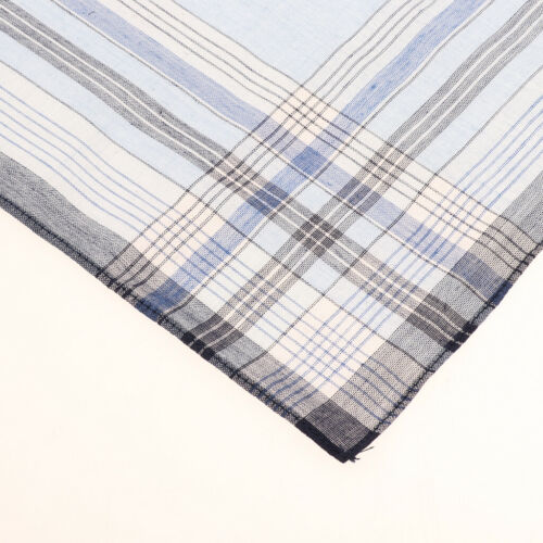 10er Pack Herren Taschentücher Set Baumwolle Stofftaschentuch 38 x 38cm