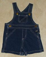 Boys Coverall Jean Shorts