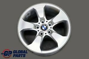 BMW-X3-Series-E83-Silver-Alloy-Wheel-Rim-17-034-Star-Spoke-204-ET-46-8J-3417393
