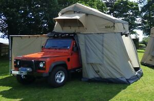 Image is loading For-Land-Rover-Defender-Discovery-Four-Man-Expedition- & For Land Rover Defender Discovery - Four Man Expedition Roof Tent ...