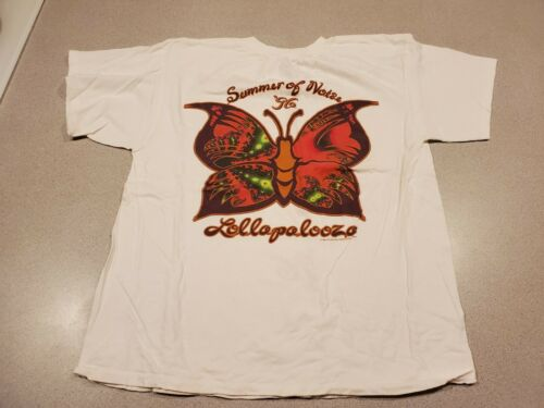 Lollapalooza 1996 Vintage Tour Shirt Metallica Sou