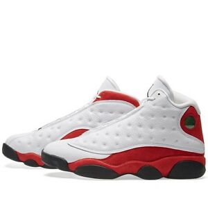 2017 Nike Air Jordan 13 XIII Retro Cherry Red Men's Size 10 414571-122