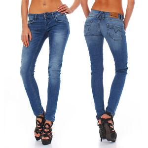 Big-Seven-Electra-Light-Blue-Skinny-Fit-Damen-Jeans-Hose