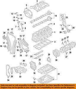 AUDI OEM 11-17 Q5-Engine Timing Chain Guide 06H109469AP   eBay   2015 Audi Q5 Engine Diagram      eBay