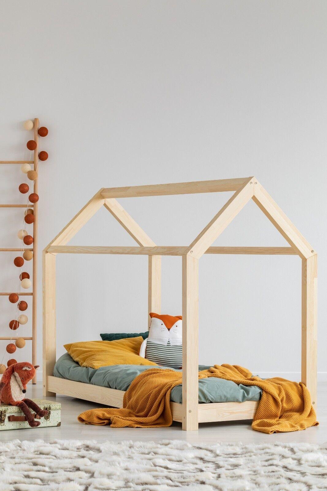 Enfants Lit Maison Cadre Lit 29 Dimensions Kids lit NOUVELLES VRAIES adeko