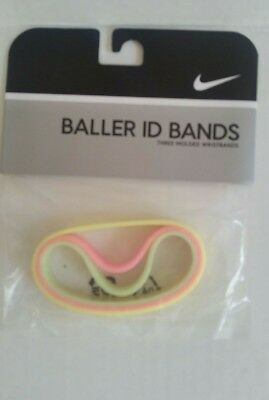 Nike Baller ID Bands Bracelets Multi