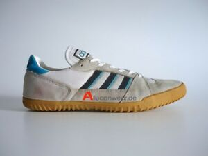 75b644a979a44 Details about 1984 VINTAGE ADIDAS HANDBALL INDOOR SPORT SHOES 80`S INDOOR  VOLLEY TT SUPER 70`S