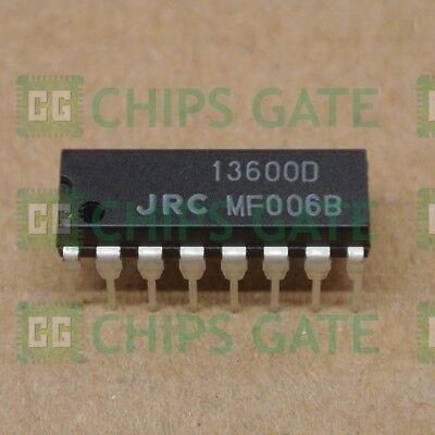 10pcs NJM13600D JRC13600D 13600D DIP-16