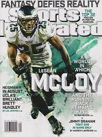 Sports Illustrated 8/4/14 Lesean Mccoy Philadelphia Eagles Cover No Label