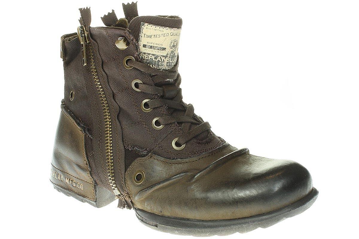 Replay GMU01-C0003L CLUTCH SOPO - Herren Schuhe Stiefel Stiefel - 018