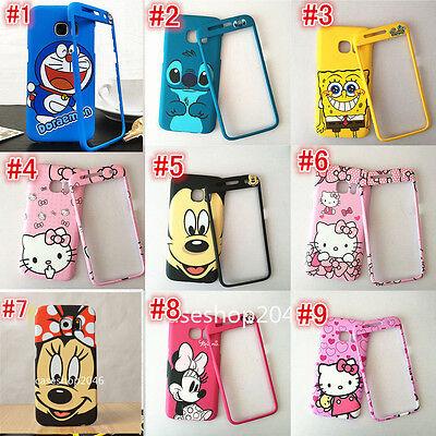 Cute cartoon MICKEY Minnie CAT fullbody Hard case cover for SAMSUNG GALAXY S7
