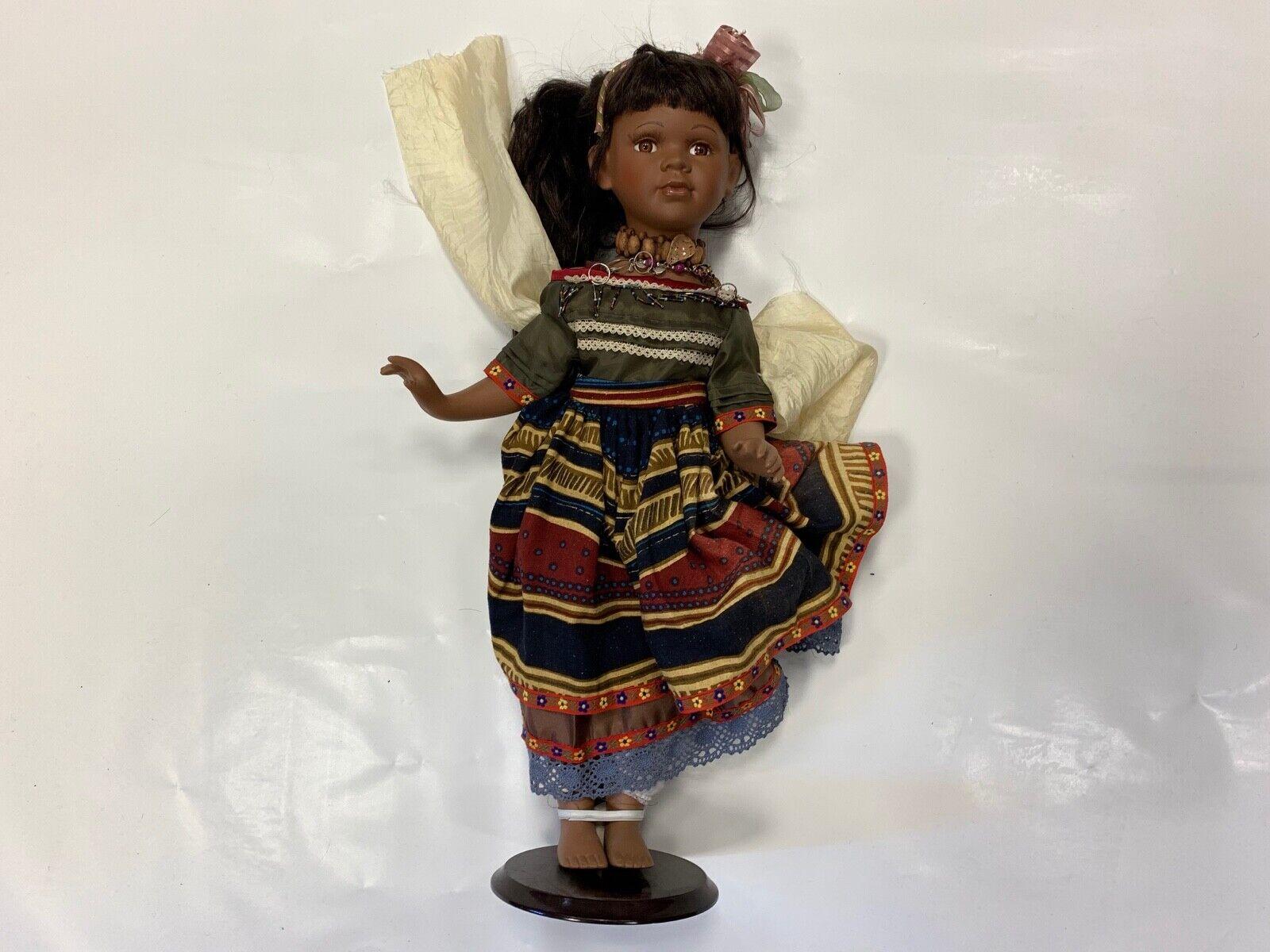 Künstlerpuppe Porzellan Puppe 58 cm. Top Zustand  | In hohem Grade geschätzt und weit vertrautes herein und heraus