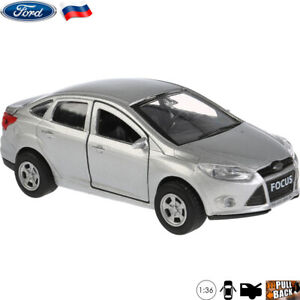 Diecast-Vehicles-Scale-1-36-Ford-Focus-Russian-Model-Car