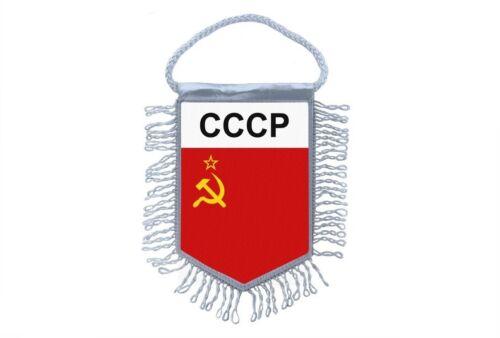wimpel mini flagge land auto dekoration udssr russland sowjetisches cccp
