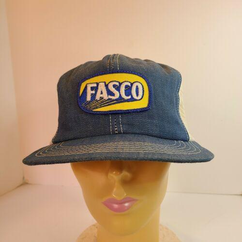 Vintage K Brand Denim FASCO Snapback Farmer Trucke