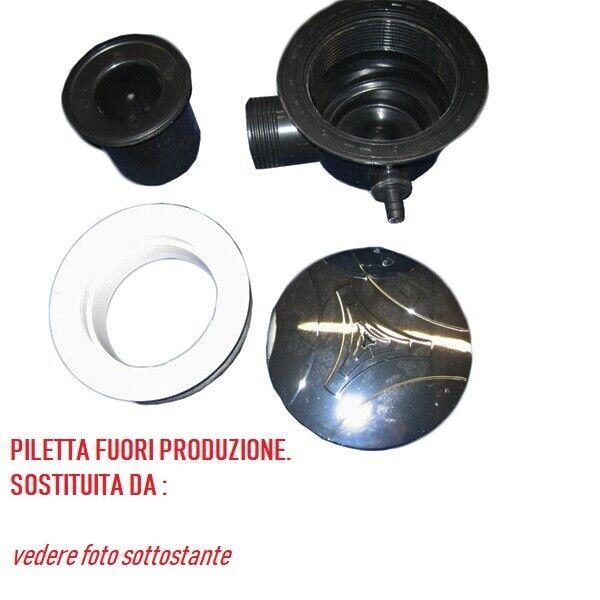Ricambio piletta piatto doccia con drenaggio bianca Albatros 4R190223300