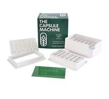 """00"" CAPSULES Filler MACHINE Kit FILLING Herbs POWDER Pills VITAMINS Medication"