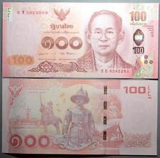 THAILAND 100 BHAT - SERIES 2016 - 2E - UNC