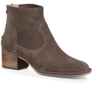 11e338df08d Details about NIB UGG Womens Bandera Mysterious Suede Ankle Bootie/Back Zip  Size US 6.5/37.5