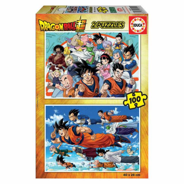 PUZZLE INFANTIL DRAGON BALL 2 x 100 PIEZAS - EDUCA 18214 - Dragon Ball Jigsaw