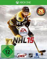 Microsoft Xbox - One Xbone Spiel Nhl 15 Eishockey 2015 Neunew
