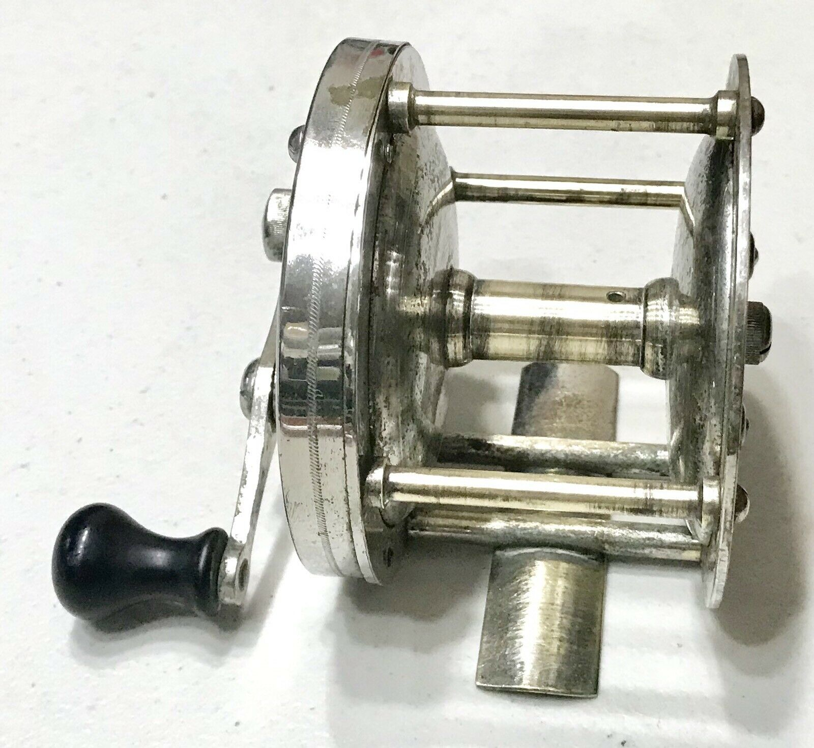 Rare Antique Vintage Hendryx 200 Casting Fishing Reel Spool Old Old Old 72b99f