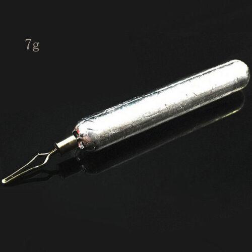 5Pcs Drop Shot Weights Sinker Finesse Pensil Lead Bass Pike Perch Fish Tackle////