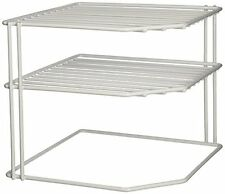 Kitchen Corner Shelf Pantry Cabinet Storage Organizer Dinnerware Bath Closet New