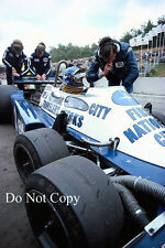 Ronnie Peterson Tyrell P34 Belgian Grand Prix 1977 Photograph 1