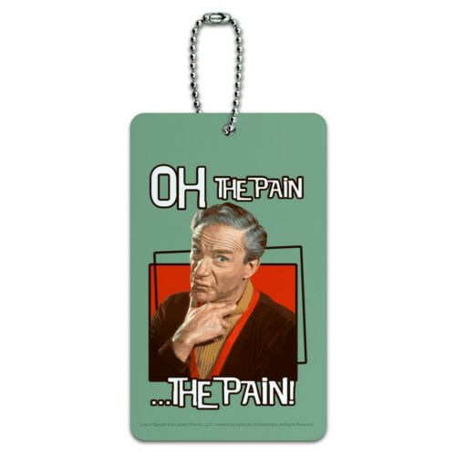 Oh The Pain Doctor Smith Lost In Space Luggage Card Suitcase Carry-On ID Tag