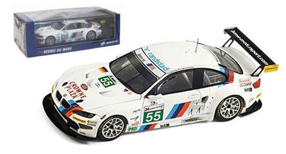 Spark S2539  BMW M3 GT   55 Le Mans 2011-farfus   MULLER   Werner, échelle 1 43,  articles de nouveauté