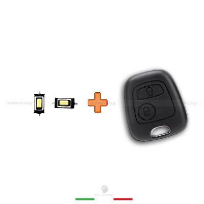 2Tasten Ersatz Schlüssel Fernbedienung Gehäuse für Toyota Aygo
