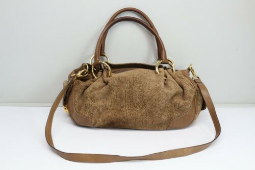 Hand Peccary Key Pull Bag Regina Ape Shouldeer Firenze Italy Suede xaYFgwSZ