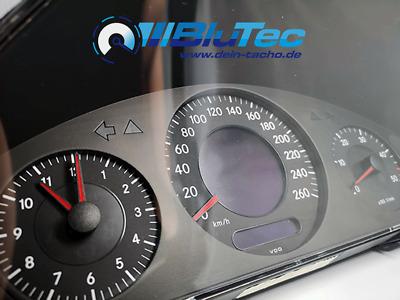 Rote Tachonadeln 4 Stück Zeiger Pointer Needles Mercedes C124 W124 W210 W211