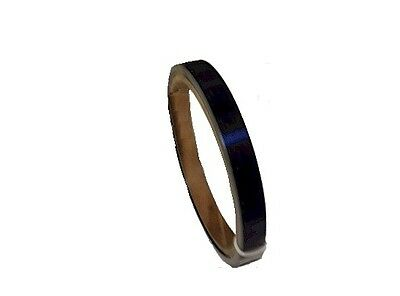 """Blue Tempered Spring Steel Shim 0.025/"""" Thick x 4.00/"""" Width x 120/"""" Length"""