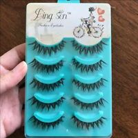 10 Pcs Fashion False Eyelashes
