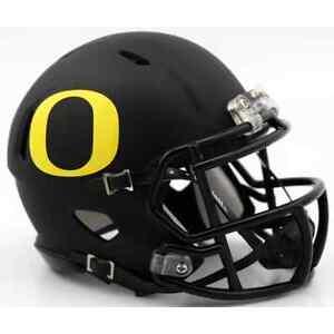 Image is loading OREGON-DUCKS-NCAA-Riddell-SPEED-Authentic-MINI-Football- 0c389fb5d