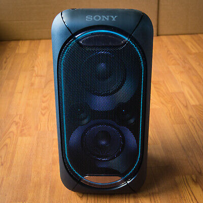 NFC Party Chain Mode Bluetooth Sony GTK-XB60 Portable Home Audio System