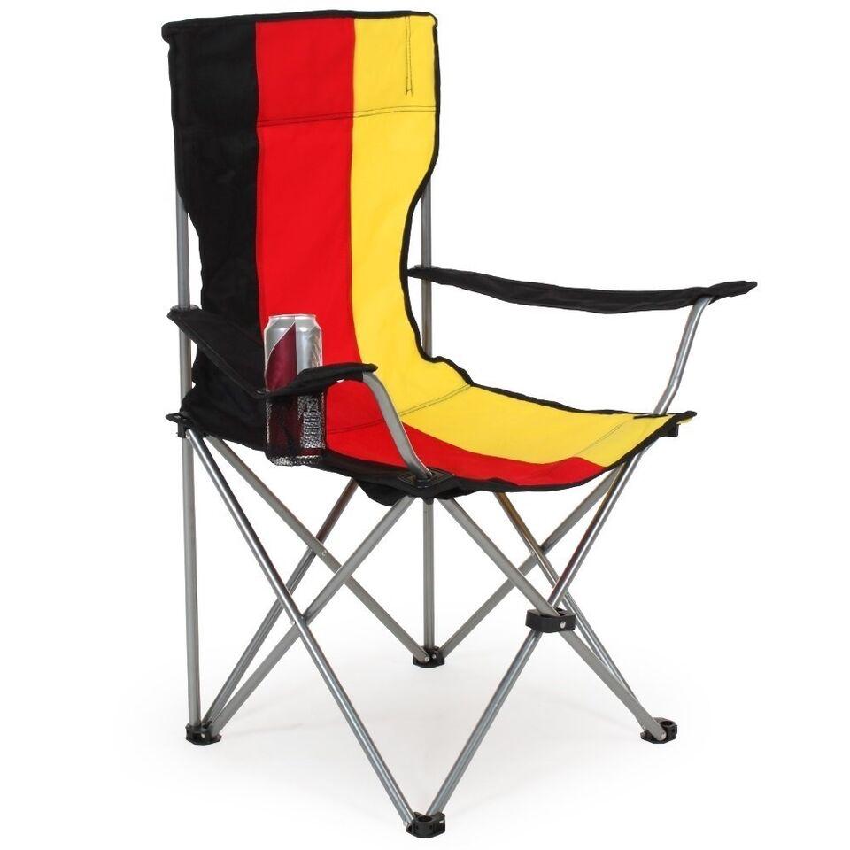 6 Campingstole enkelt Tyskland